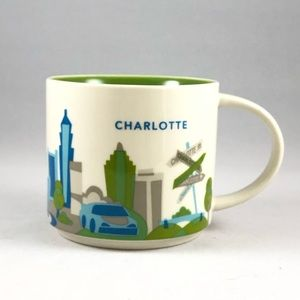 "Charlotte Starbucks ""You Are Here"" Series Mug"
